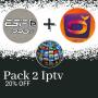 Pack abonnements esiptv+orcapro+